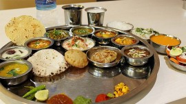Special Navratra Thali at The Mix by the BrewMaster