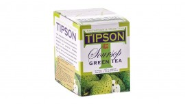 Tipson Tea launches Soursop Green Tea