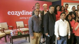 Vir Sanghvi launches EazyDiner, India