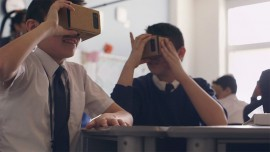 Scope of virtual reality space in education sector