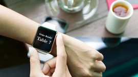 Are restaurants eyeing wearable as an alternative to cashless payment