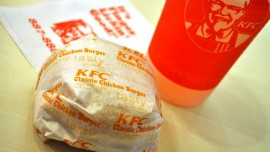 Worms in KFC burger at Mangalore