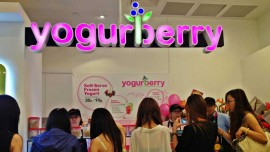 Yougurberry Opens in Delhi