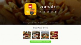 Zomato reveals Zomato order- an app for food delivery services