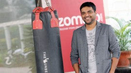Zomato starts home delivery of food from restaurants, partners with Pickingo, Grab and Delhivery.